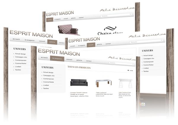 esprit maison. Black Bedroom Furniture Sets. Home Design Ideas